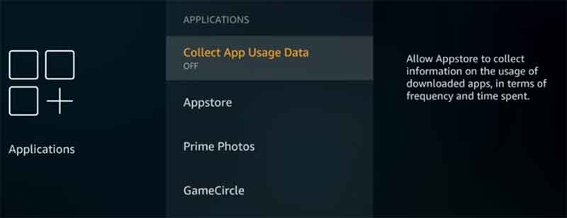 Firestick collect-app-usage-data
