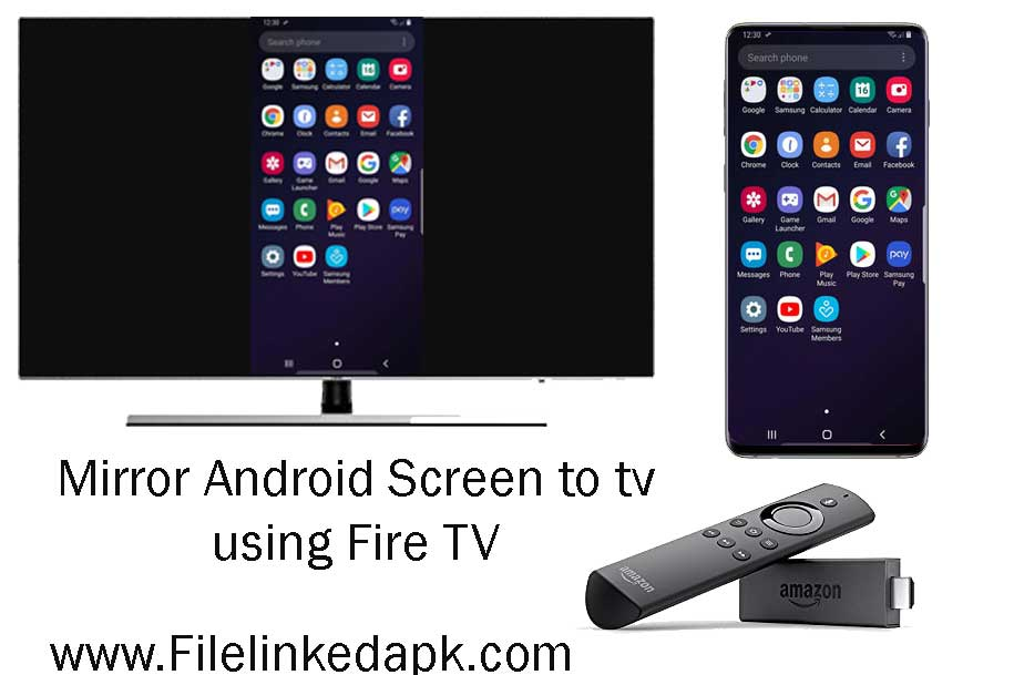 mirror android screen to tv