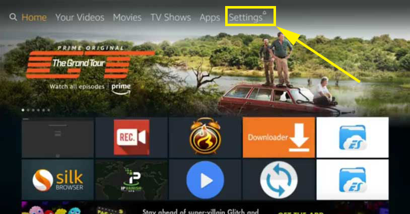 Fire TV Stick settings