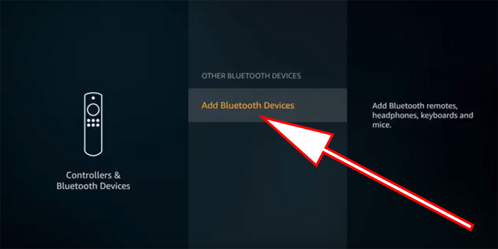 firestick settings add bluetooth devices