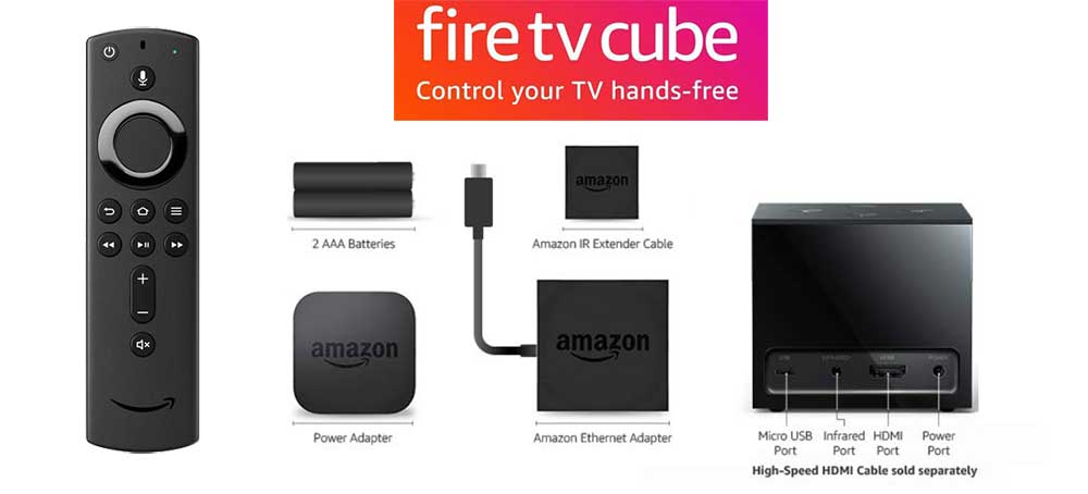 whats inside fire tv cube