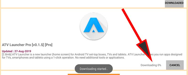downloading app apktime