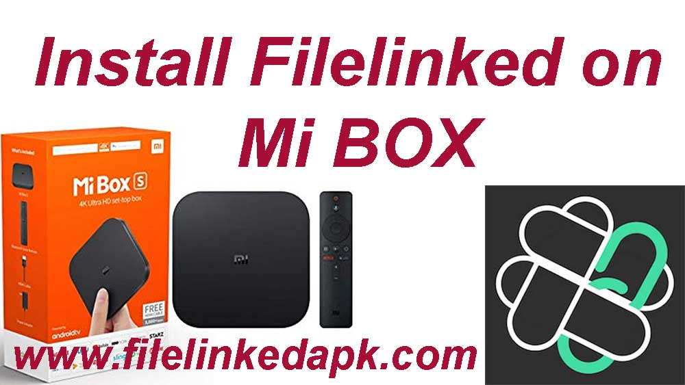 install Filelinked on Mi Box