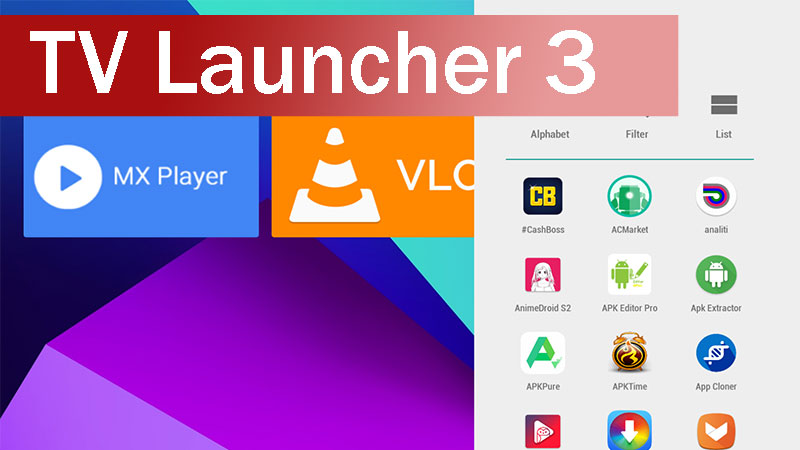 TV Launcher 3 apk