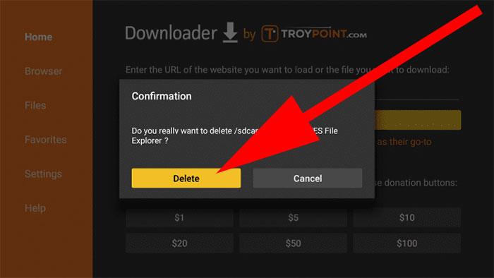 Download downloaded APK file Downloader