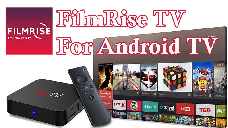 FilmRise TV app for Android
