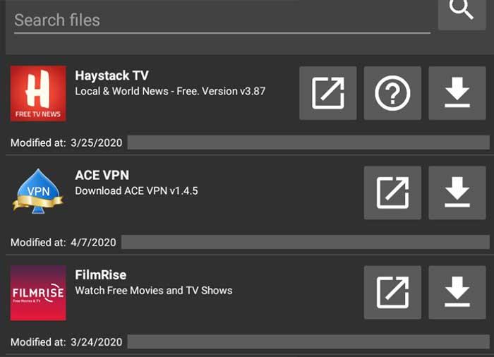 ACE VPN Filelinked