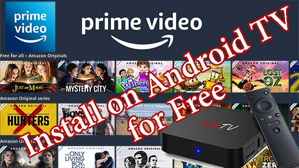Amazon Prime Videos for Android TV
