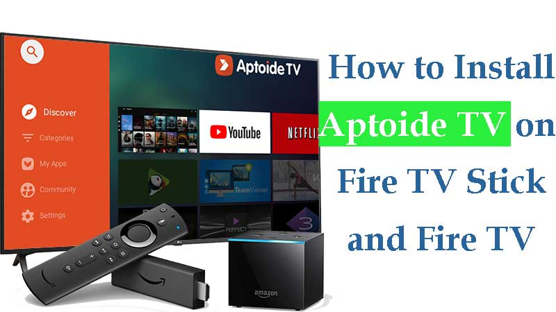 Install Aptoide TV on Fire TV Stick