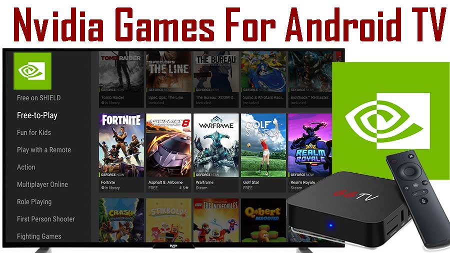 Nvidia Games app for Android TV