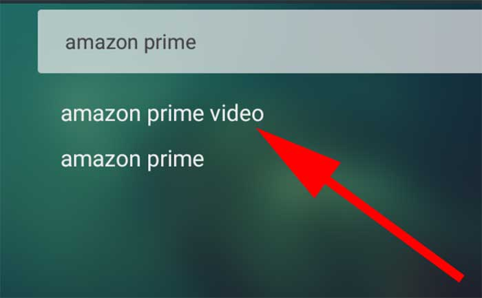 Search Amazon Prime on Aptoide TV