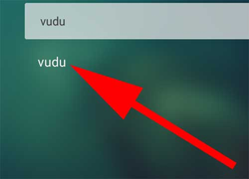 Search vudu on aptoide tv