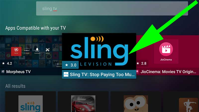 Sling TV on Android TV