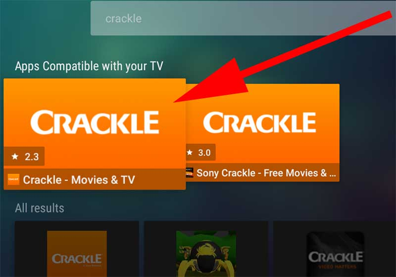 Sony Crackle Android TV