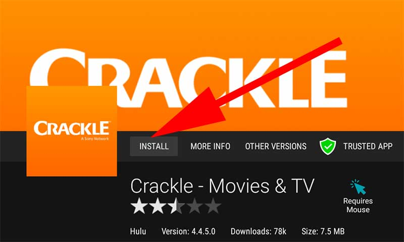 Sony Crackle For Android TV download