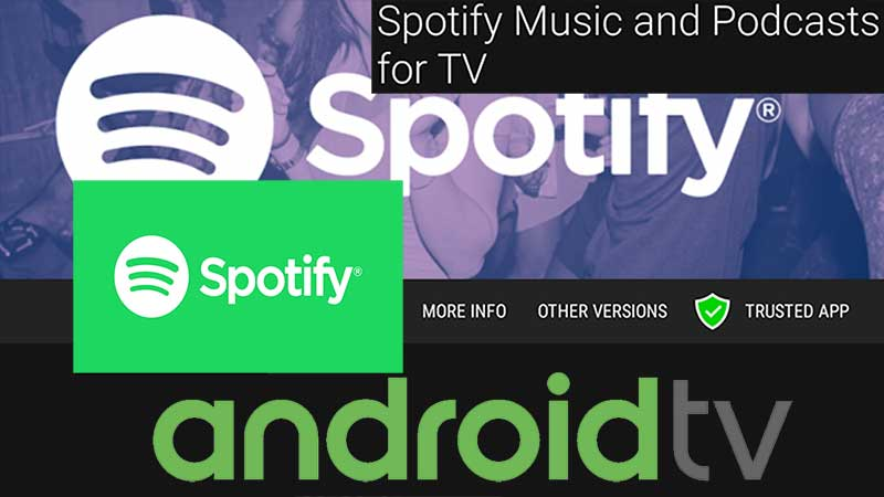 Spotify for Android TV