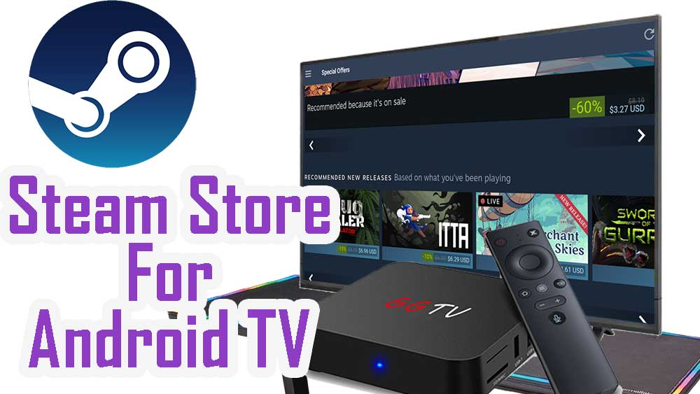 Steam Store for Android TV