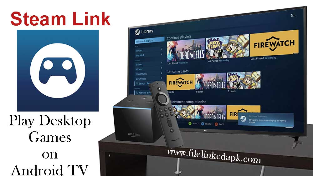 Steam link for Android TV
