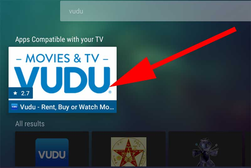 Vudu on Fire TV Stick