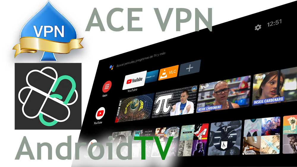 ACE VPN Android TV