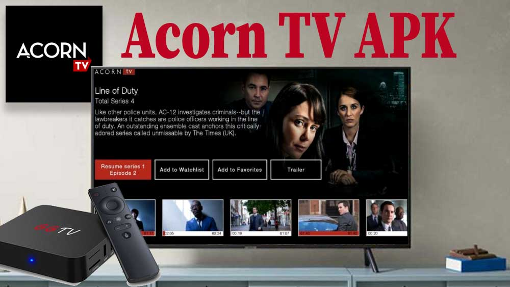 Acorn TV APK for Android TV