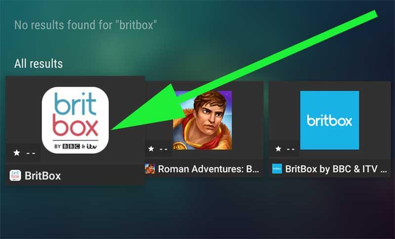 BritBox tv APK Android TV