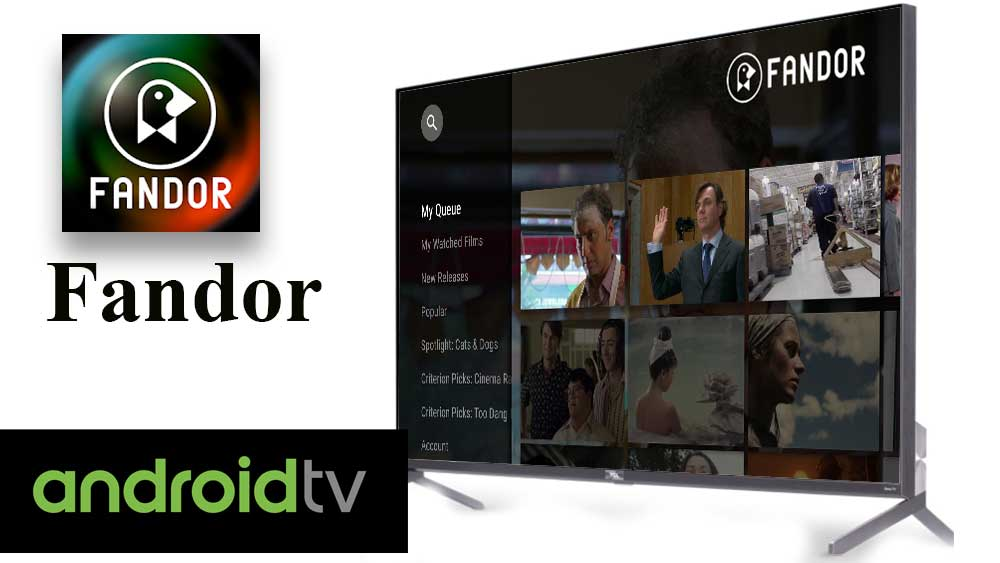 Fandor for Android TV and Fire TV