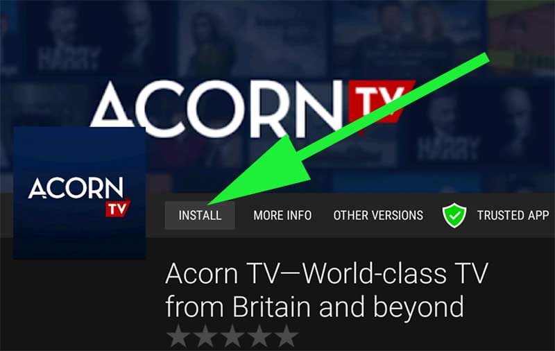 Install Acorn TV Fire TV Stick
