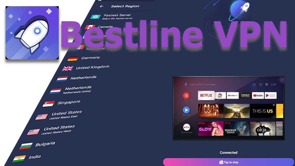 Bestline VPN for Android TV