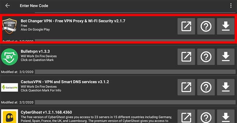 Bot Changet VPN Filelinked