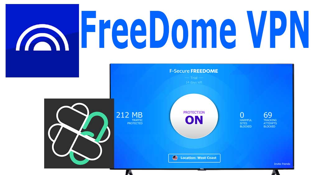 FreeDome VPN for Android TV