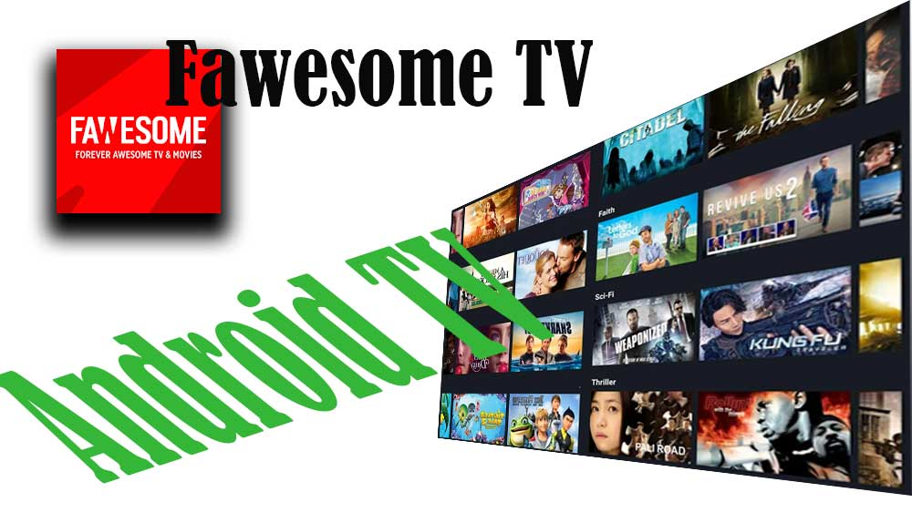 Fawesome TV for Android TV