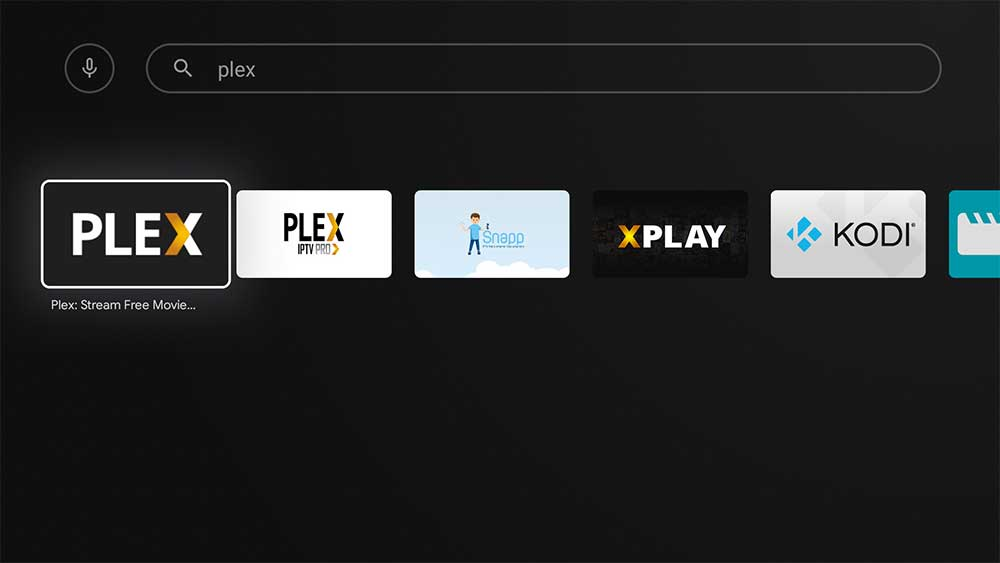 Plex TV Android TV