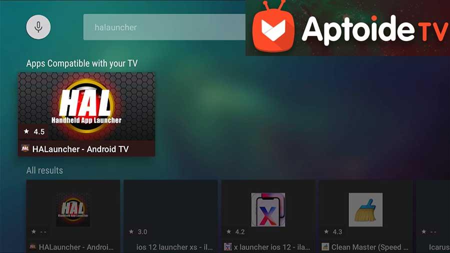 HALauncher Aptoide TV