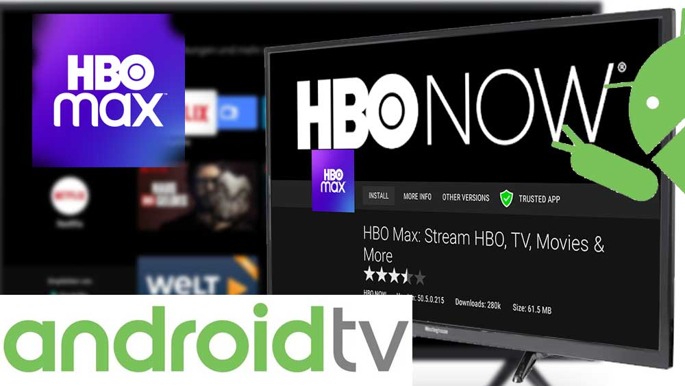 HBO MAX for Android TV