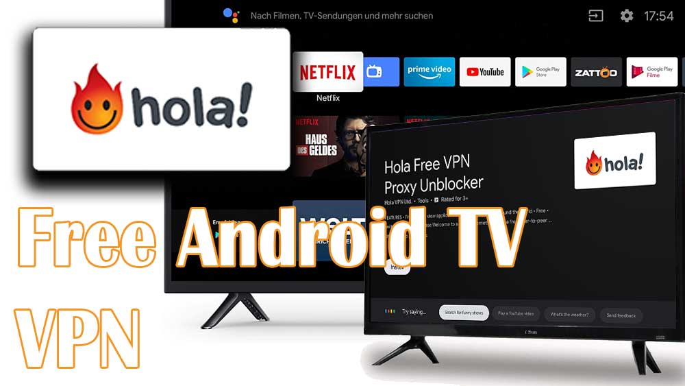 Hola VPN TV for Android TV