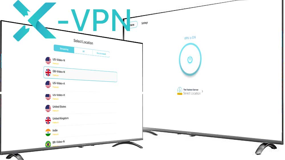 X VPN TV free