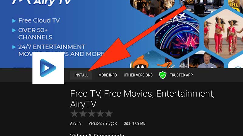 install Airy TV