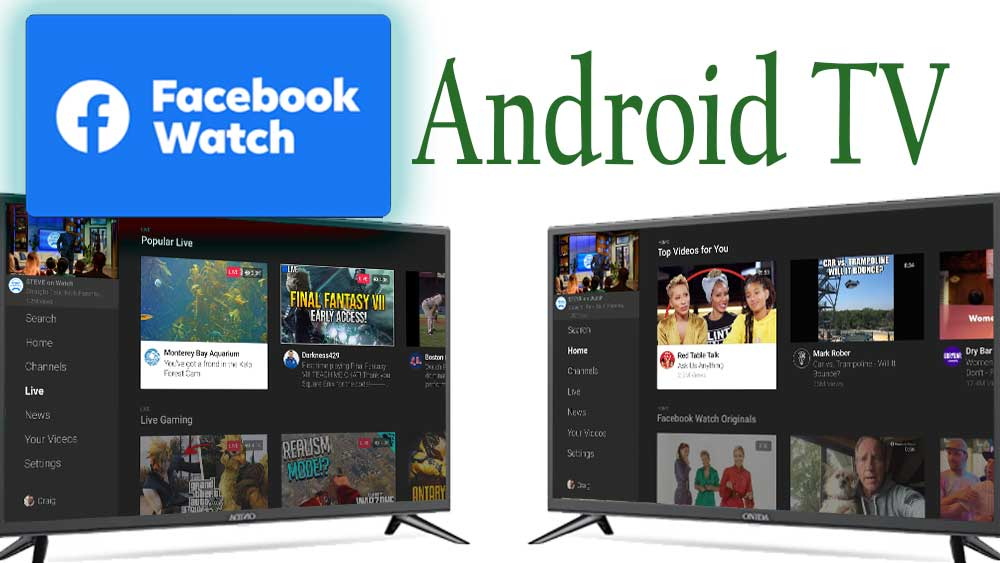Facebook watch TV