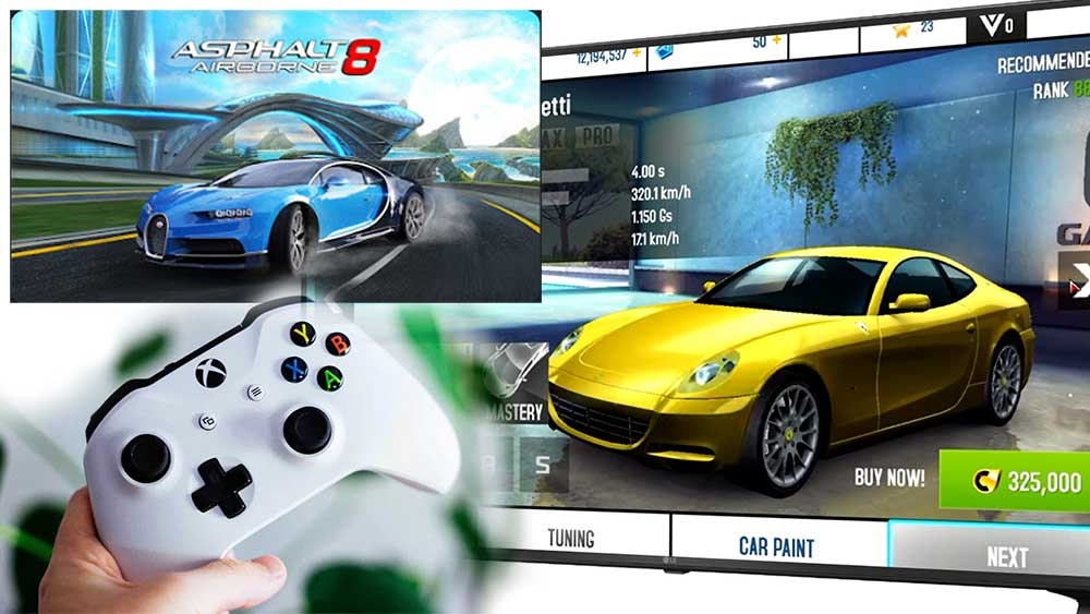 Asphalt 8 For Android TV BOX