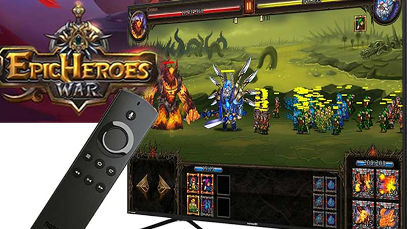 Epic Heroes War Android TV and Google TV