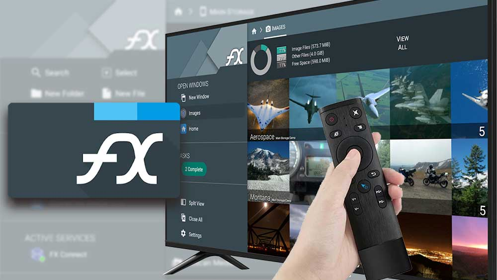 FX file Explorer for Android TV