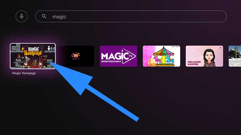 Magic Rampage Android TV