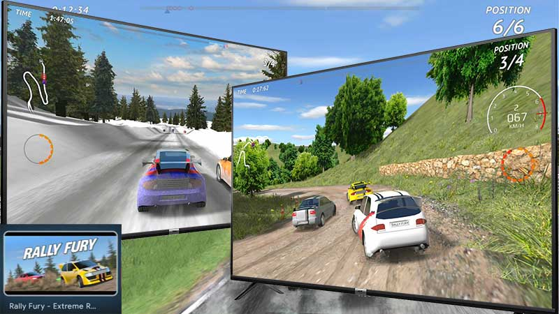 Rally Fury Android TV Game