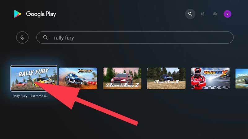 Rally Fury Extreme Racing TV Game