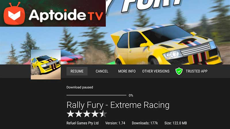Rally Fury for Fire TV