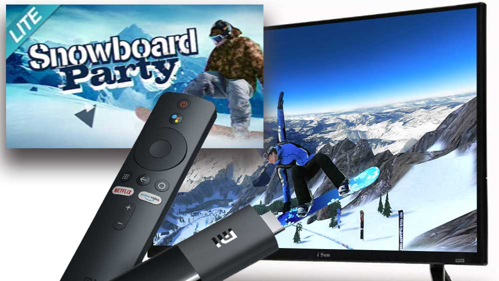 Snowboard party Android TV And Google TV