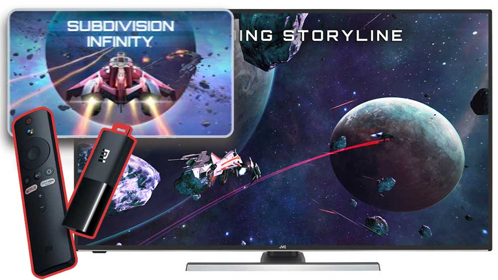 Subdivision Infinity Android TV Game
