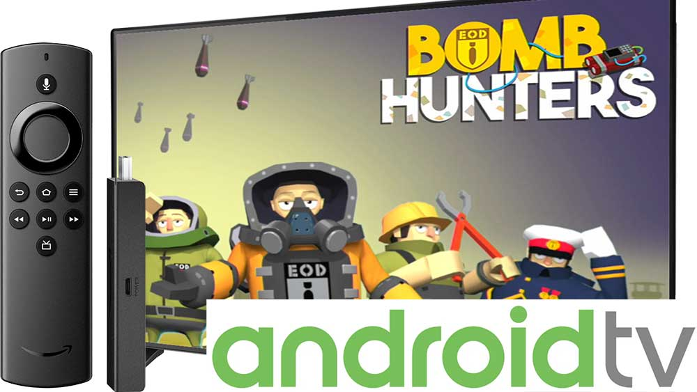 Bomb Hunters Game for Android TV and Fire TV