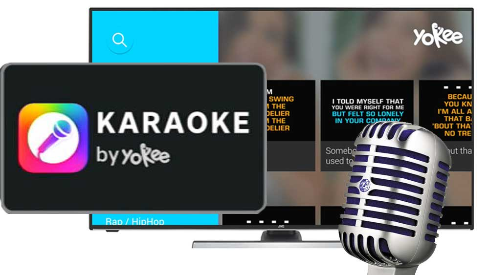 Karaoke sing app for Android TV